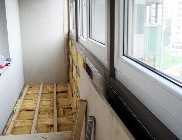 Теплый полы на балконе своими руками