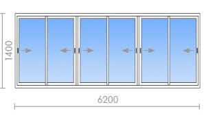 """Холодное остекление балконов и лоджий компания """"окна борна""""."""