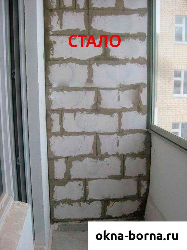 Какие пеноблоки применяются для балконов. - все об окнах - к.