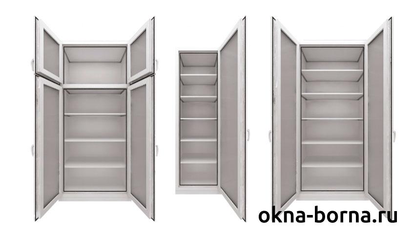 Шкаф на балкон или лоджию остекление балконов уфа.