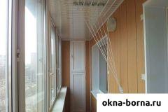 Шкаф для узких балконов и лоджий