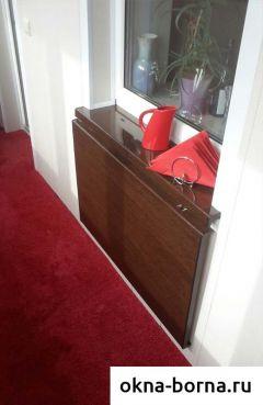 Откидной столик на балкон лиана