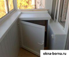 Распашные шкафы пвх
